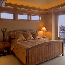 Contemporary Bedroom by Gelotte Hommas Architecture
