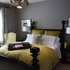 Eclectic Bedroom by R. Cartwright Design