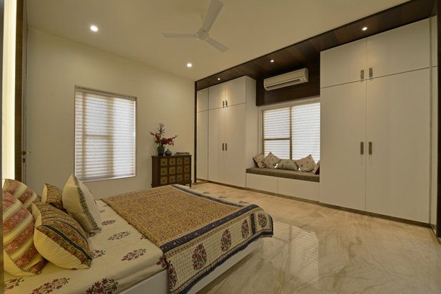 Contemporary Bedroom by Prashant Bhat Photography