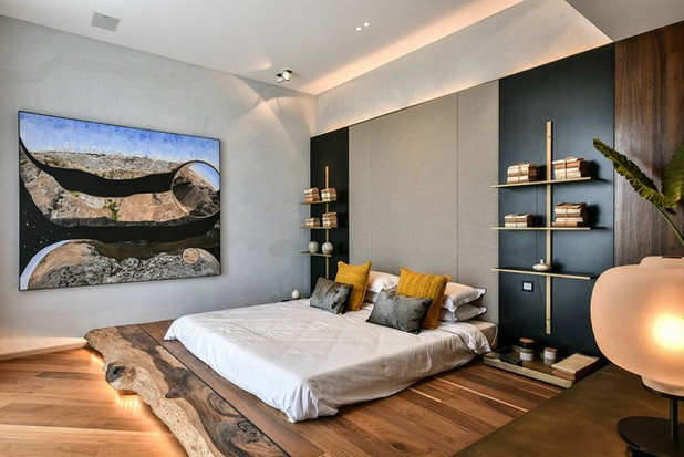 Contemporary Bedroom by Racheta Interiors Pvt Limited