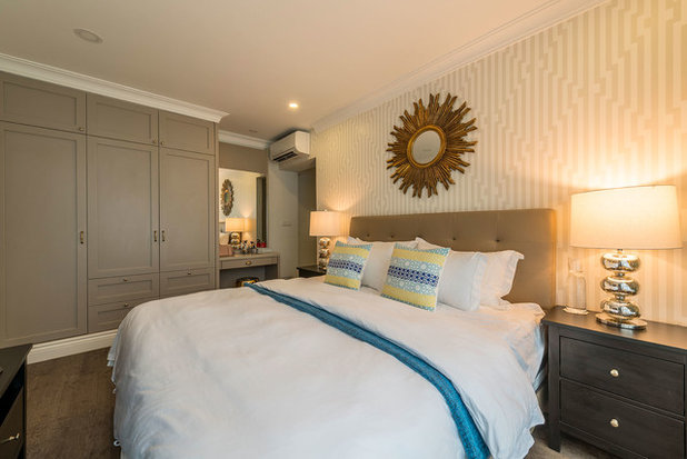 Transitional Bedroom by Aiden T