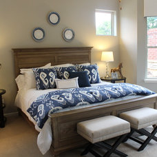 Contemporary Bedroom by Flair Interiors