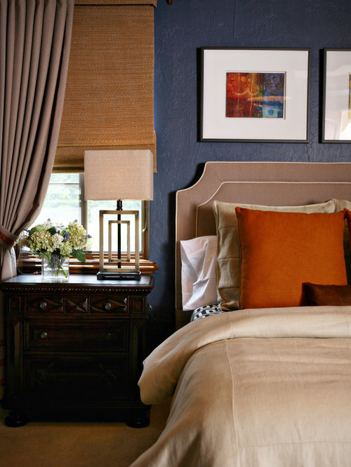 Tan And Blue Color Scheme Houzz