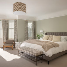Transitional Bedroom by Upscale Construction