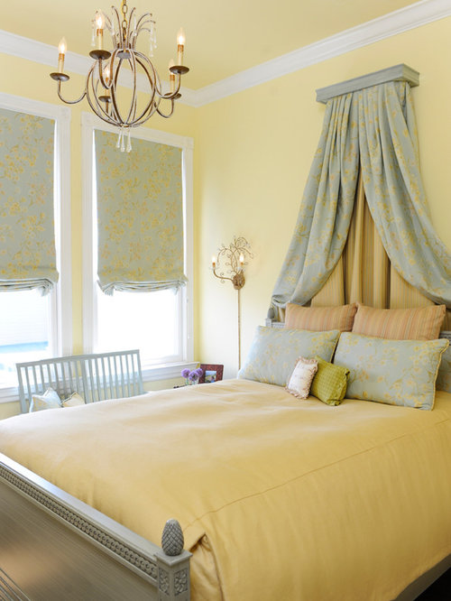 Bedroom Design Yellow Walls