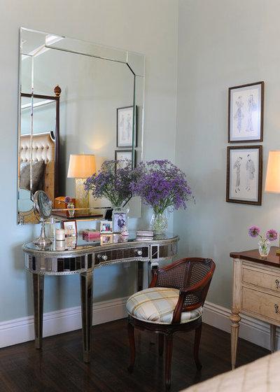 Shabby-chic Style Bedroom by Brian Dittmar Design, Inc.