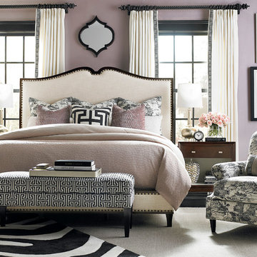 Presidio Upholstered Bed by Bassett Furniture