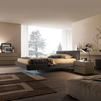 Anastasia 1167 Contemporary Bedroom Tampa By