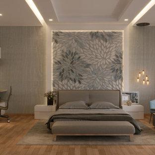 Foto di una camera da letto moderna