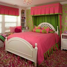Eclectic Bedroom by Maria K. Bevill Interior Design