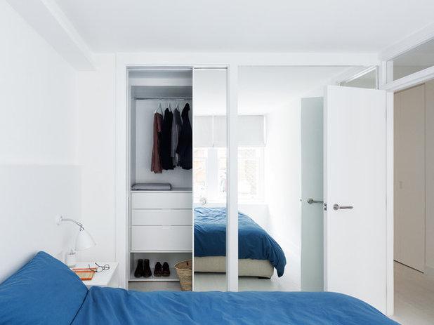 北欧 寝室 by Amos Goldreich Architecture