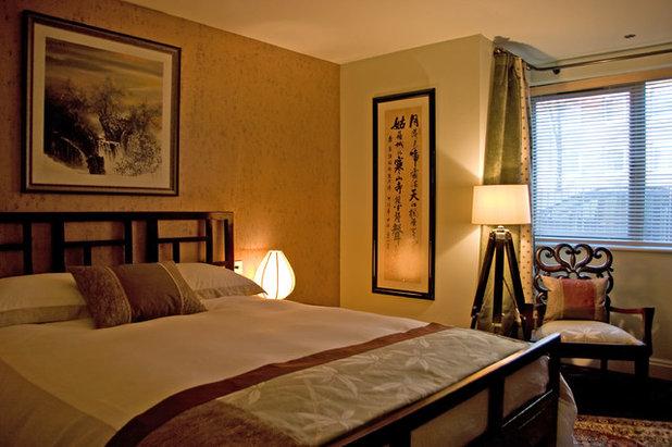 コンテンポラリー 寝室 by Nicola Holden Designs