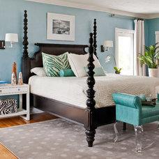Contemporary Bedroom by Jacki Mallick Designs, LLC.