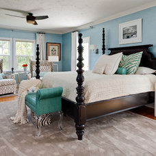 Contemporary Bedroom by Jacki Mallick Designs, LLC.