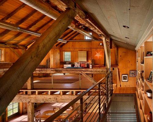 Cabin Loft Houzz