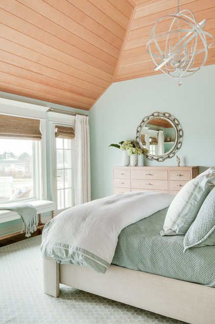 Beach Style Bedroom by JS Interiors LLC