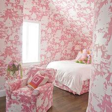 Bedroom by Zoe Feldman Design, Inc.