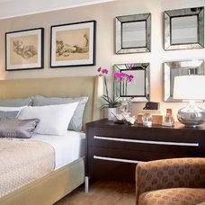 Contemporary Bedroom by Luminosus Designs LLC