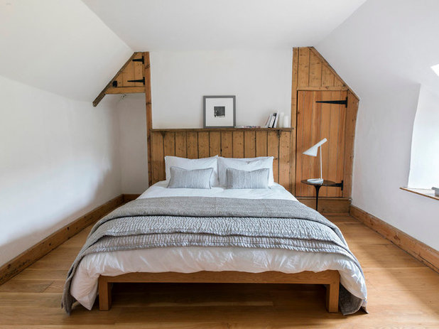 Country Bedroom by Found Associates