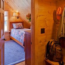 Rustic Bedroom by Rangeley Building & Remodeling