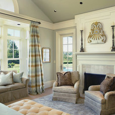 Traditional Bedroom by Tina Barclay