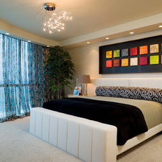 Contemporary Bedroom by Susan Lachance Interior Design