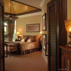 Mediterranean Bedroom by Niemann Interiors