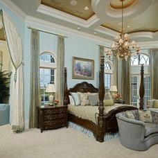 Mediterranean Bedroom by John Cannon Homes