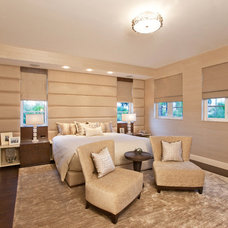 Transitional Bedroom by Leighton Design Group