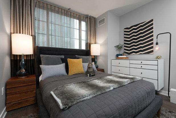 Contemporary Bedroom by Carlos Andres Duenas