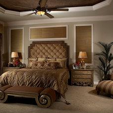 Mediterranean Bedroom by Vogue Interiors