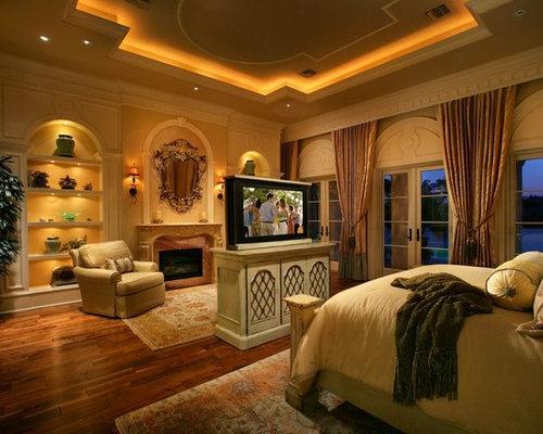 Mediterrane Schlafzimmer mit gelber Wandfarbe Ideen ...