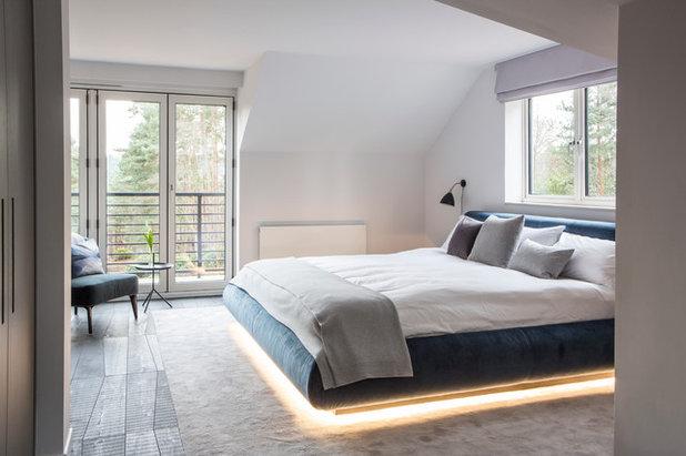 Contemporary Bedroom by Nice Brew Indoor Design