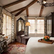Mediterranean Bedroom by Andrea Bartholick Pace Interior Design