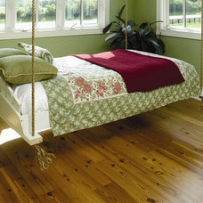 Eclectic Bedroom by Authentic Pine Floors, Inc.