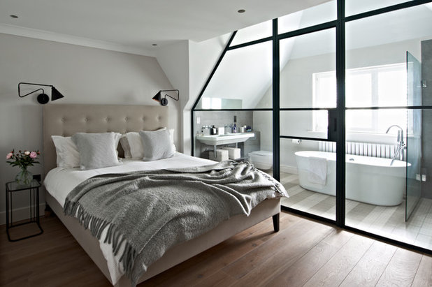 Contemporary Bedroom by Ingrid Rasmussen Photography