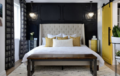 Picture Perfect: 22 Ideas for Bedrooms with Black Walls