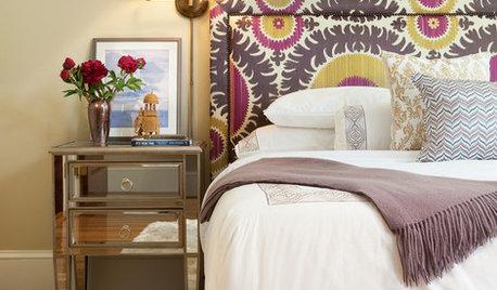 寝室をグレードアップする、布張りヘッドボードに注目!