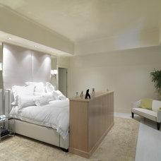 Contemporary Bedroom by Brookside Custom Homes, LLC.