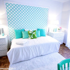 Contemporary Bedroom by Ana Antunes Homestyling