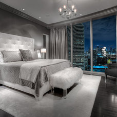 Contemporary Bedroom by Carl Mayfield Architectural Photographer