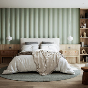 Project Waverton - Master Bedroom