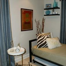 Contemporary Bedroom by PROJECTA INTERIOR DESIGN