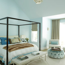 Contemporary Bedroom by Sherrill Canet Interiors