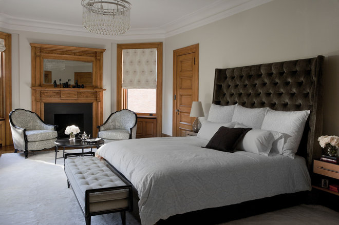 Traditional Bedroom by David Howell Design