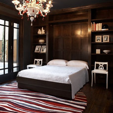 contemporary bedroom by Carolina V. Gentry, RID