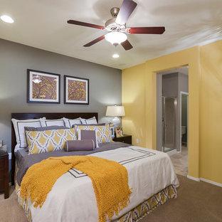 Trendy bedroom photo in Baltimore
