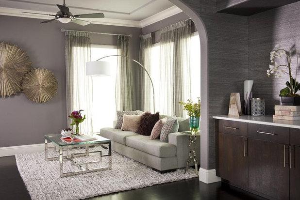 Contemporary Bedroom by Rhonda Vandiver-White