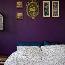 Bedroom purple