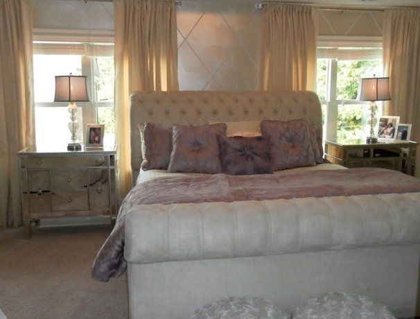 Contemporary Bedroom by Ursallie Smith